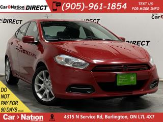 Used 2013 Dodge Dart SXT| LOCAL TRADE| SUNROOF| ALLOYS| for sale in Burlington, ON