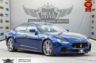 Used 2015 Maserati Ghibli S Q4, AWD, V6, NAVI, REAR CAM, SENSORS, SUNROOF for sale in Toronto, ON