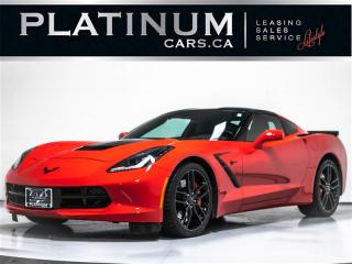 Used 2016 Chevrolet Corvette STINGRAY Z51 3LT, NAV, CAM, VENT. SEATS, HEADS UP for sale in Toronto, ON