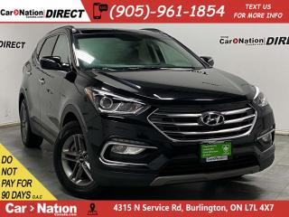 Used 2018 Hyundai Santa Fe Sport 2.4L Luxury| AWD| LEATHER| PANO ROOF| PUSH START| for sale in Burlington, ON