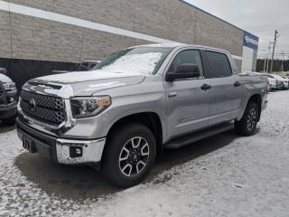 Used 2018 Toyota Tundra 4x4 CrewMax SR5 Plus 5.7 6A Navigation! Back up camera! No damages! for sale in Surrey, BC