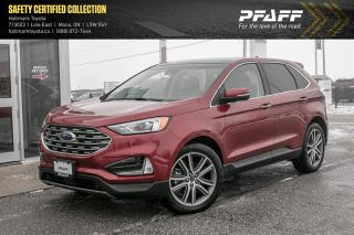 Used 2019 Ford Edge Titanium - AWD for sale in Orangeville, ON