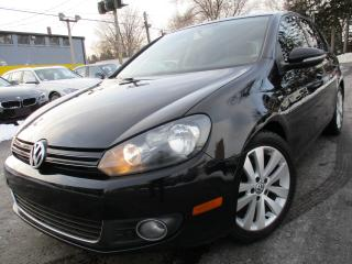 Used 2013 Volkswagen Golf TDI WOLFSBURG | DIESEL | AUTOMATIC | SUNROOF !! for sale in Burlington, ON