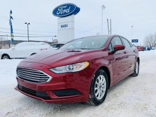 Used 2017 Ford Fusion Berline S Très Bas KM!! Bluetooth for sale in Trois-Rivières, QC