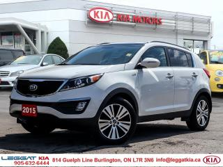 Used 2015 Kia Sportage BACKUP CAMERA, SUNROOF, AWD, LEATHER, PARKING SENSORS for sale in Burlington, ON