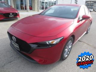 New 2020 Mazda MAZDA3 Sport GS Apple CarPlay, Android Auto, Heated Seats for sale in Steinbach, MB