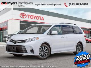 New 2020 Toyota Sienna LE 7-Passenger  - All Wheel Drive - $256 B/W for sale in Ottawa, ON
