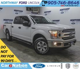 Used 2018 Ford F-150 XLT | 3.3L V6 | BACKUP CAM | BED LINER | SYNC | for sale in Brantford, ON