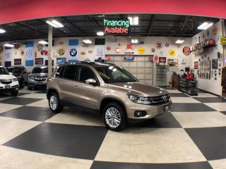 Used 2015 Volkswagen Tiguan 2.0 TSI SPECIAL EDITION AUT0 AWD PANO/ROOF CAMERA 106K for sale in North York, ON