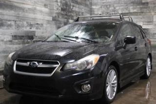 Used 2012 Subaru Impreza AWD,AUTOMATIQUE, TOIT OUVRANT, SIÈGE CHAUFFANT, BL for sale in St-Sulpice, QC