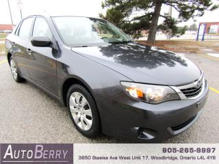 Used 2009 Subaru Impreza 2.5i - AWD for sale in Woodbridge, ON