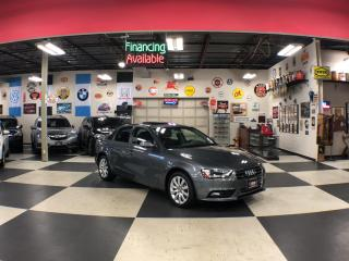 Used 2014 Audi A4 2.0T QUATTRO AUT0 LEATHER SUNROOF CAMERA for sale in North York, ON