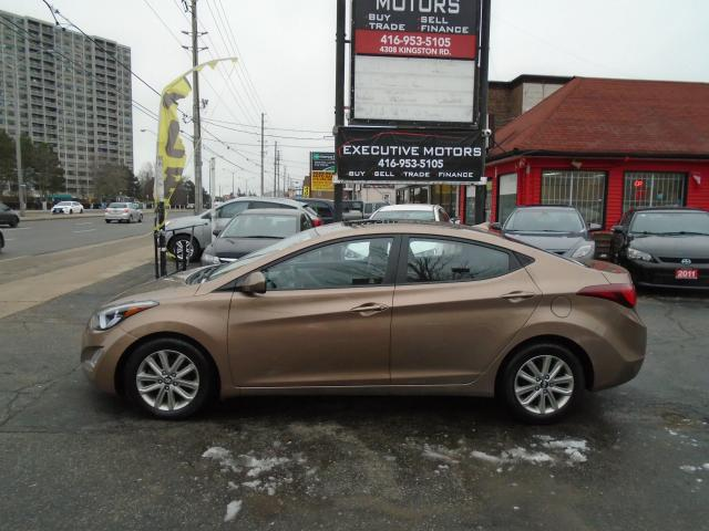 2015 Hyundai Elantra Sport Appearance/ ALLOYS/ SUNROOF / CERTIFIED/MINT