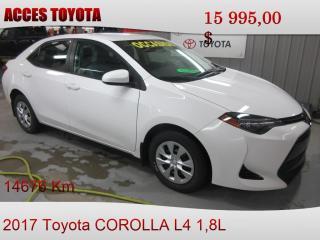 Used 2017 Toyota Corolla 14676km for sale in Rouyn-Noranda, QC