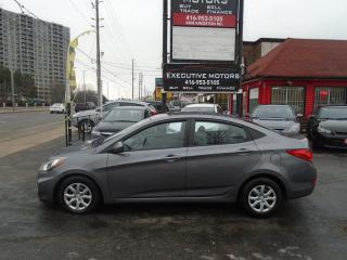 Used 2014 Hyundai Accent GL/ CERTIFIED / NEW BRAKES / ONE OWNER / MINT / for sale in Scarborough, ON