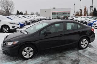 Used 2014 Honda Civic LX ***entretenue au concessionnaire*** for sale in Longueuil, QC