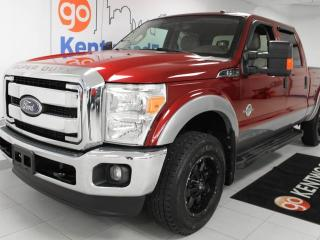 Used 2014 Ford F-250 Super Duty SRW XLT 4WD with power seats and backup cam for sale in Edmonton, AB