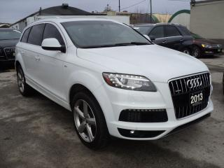 Used 2013 Audi Q7 S-LINE NAVIGATION,CAMERA,PANORAMIC ROOF for sale in Oakville, ON