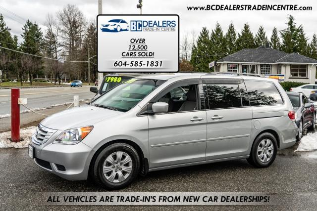 2010 Honda Odyssey SE, DVD, Power Dual Doors, Local BC, Clean!