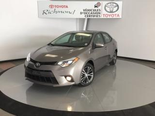 Used 2016 Toyota Corolla LE Gr:B *TOIT + MAGS* for sale in Richmond, QC