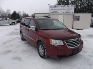 Used 2009 Chrysler Town & Country TOURING for sale in Elmvale, ON