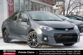 Used 2016 Toyota Corolla SPORT UPGRADE MAGS, TOIT, GROUPE ÉLECTRIQUE for sale in Pointe-Claire, QC