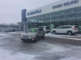 Used 2016 Subaru Outback 3.6R w/Limited & Tech Pkg for sale in Owen Sound, ON