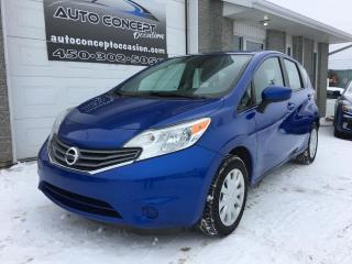 Used 2015 Nissan Versa Note 1.6 SV à hayon 5 portes BA for sale in St-Lin-Laurentides, QC
