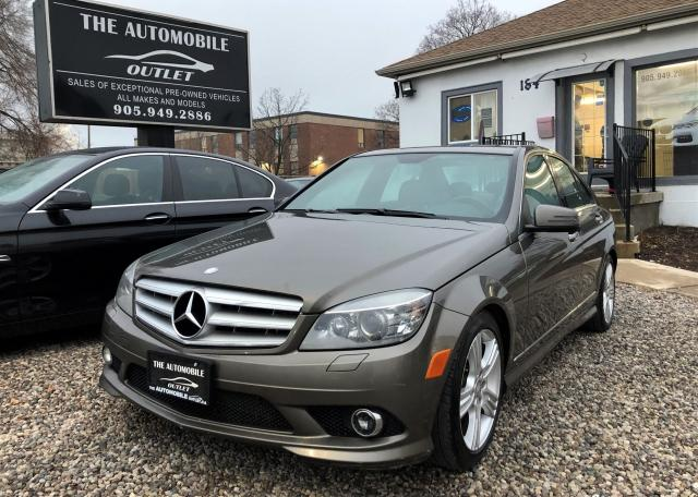 2010 Mercedes-Benz C300 C 300 AWD 4MATIC CERTIFIED LEATHER SUNTOOF