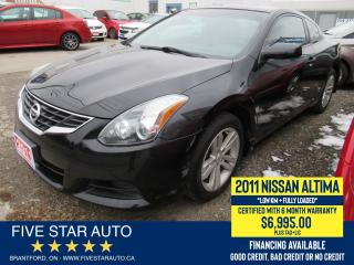 Used 2011 Nissan Altima 2.5 S - Certified w/ 6 Month Warranty for sale in Brantford, ON