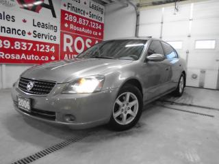 Used 2006 Nissan Altima 4dr Auto 2.5 SL EXTRA LAETHER SUNROOF H-SEATS for sale in Oakville, ON