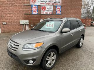 Used 2012 Hyundai Santa Fe GL Premium/AWD/2.4L/SAFETY+WARRANTY INCL/ONE OWNER for sale in Cambridge, ON