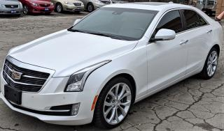 Used 2017 Cadillac ATS Luxury V6 AWD for sale in Hamilton, ON