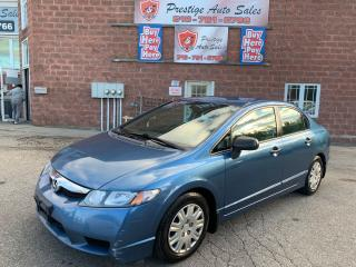 Used 2010 Honda Civic DX-A/ONE OWNER/NO ACCIDENT/SAFETY+WARRANTY INCLUDE for sale in Cambridge, ON