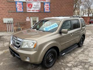 Used 2011 Honda Pilot EX-L/4WD/8 SEATS/SAFETY+WARRANTY INCLUDED for sale in Cambridge, ON