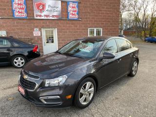Used 2015 Chevrolet Cruze Diesel/2T/SAFETY+WARRANTY INCLUDED/NO ACCIDENT for sale in Cambridge, ON