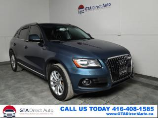 Used 2016 Audi Q5 2.0T Progressiv Quattro Nav Pano KeyGo  Certified for sale in Toronto, ON
