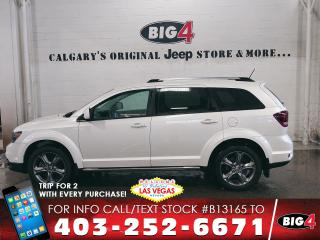 Used 2016 Dodge Journey Crossroad | Leather | Push Start for sale in Calgary, AB
