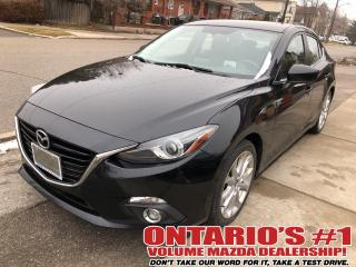 Used 2014 Mazda MAZDA3 NAV,SUNROOF,HEADS-UP DISPLAY !!! for sale in Toronto, ON