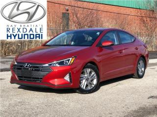 Used 2019 Hyundai Elantra Preferred Auto w-Sun & Safety Package for sale in Toronto, ON