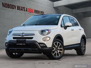 Used 2016 Fiat 500 X 2nd Set Whls*Cam*Leather*Heated*Clean* for sale in Mississauga, ON