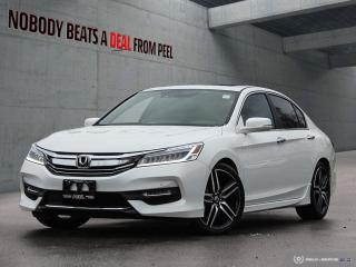 Used 2017 Honda Accord Sedan 4dr I4 CVT Touring for sale in Mississauga, ON