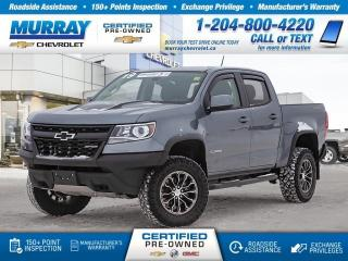 Used 2019 Chevrolet Colorado 4WD ZR2 for sale in Winnipeg, MB