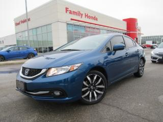 Used 2015 Honda Civic Sedan 4dr Auto Touring | HONDA CERTIFIED | for sale in Brampton, ON