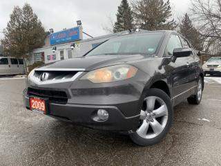 Used 2009 Acura RDX AWD 4dr | ACCIDENT FREE| LEATHER| BLUETOOTH| for sale in Brampton, ON