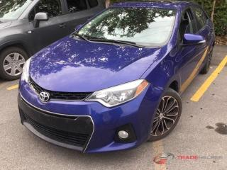Used 2014 Toyota Corolla S, leather, navigation, sunroof for sale in Halton Hills, ON