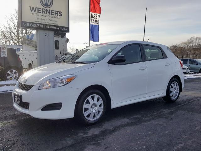 2012 Toyota Matrix 5-SPEED