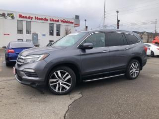 Used 2016 Honda Pilot Touring - Navigation - Leather - DVD - Loaded!! for sale in Mississauga, ON