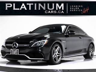 Used 2017 Mercedes-Benz C-Class C63 S, AMG, 4.0L V8, 503HP, NAV, 360 CAM for sale in Toronto, ON