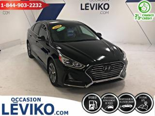 Used 2018 Hyundai Sonata Hybride PLUG IN LIMITED **CUIR + NAVIGATION** for sale in Lévis, QC
